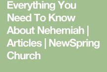 Bible study Nehemiah