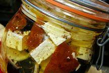 nakládaný sýr