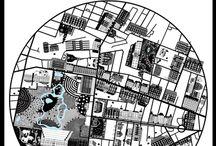 Copenhagen Maps Poster / Copenhagen