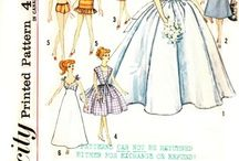 Sewing Patterns : DOLLS, TOYS & CLOTHES