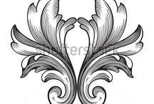 antique motifs