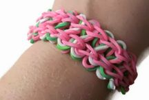 Loom bracelets / by Nicole Stalker