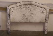 Headboards / Different types of headboards which EYM has reupholstered or repaired!