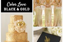 Wedding Colours- Black and Gold