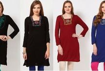 Shop for Aurelia Winter Clothing Online in India / Shop for Aurelia Winter Wear - Kurtas Online in India - http://jabongwomenswear.blogspot.com/2013/12/get-set-for-winters-with-aurelia-winter.html