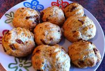 Apéro / Cookies parmesan tomates sechees