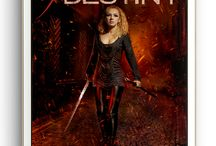 Daughters of Destiny: A Sci-Fi & Fantasy Heroines Box Set / This box set contains TEN complete novels, all gripping and intriguing stories with women rocking rebellions, handing out justice, battling shadow gods, and bending the will of kings.  Learn more: https://destinynovels.blogspot.com/p/blog-page_26.html