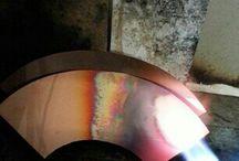 How to create my works ★ Maya WAKABAYASHI metal & glass art / metal works, kiln casting glass, and more... http://mayasworks.com