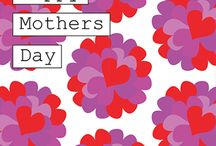 Mothers Day Cards from www.heartkisshug.com / Order here - http://www.heartkisshug.com (no paypal account required - easy peasy!)   Beautiful and totally unique designs celebrating Mothers Day.   Bold, bright and beautiful cards for bold, bright and beautiful people!  All designs by Emma Digerud-Waring