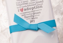 Adoption Announcements / A board to get cute ideas on ways to announce the arrival of your little bundle of joy!