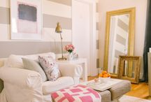 Living Room / Inspiration and ideas for decorating your living room. Create a cozy space for your family to enjoy.