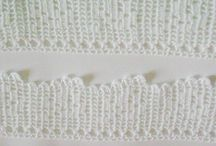 Crochet Lace Trims / Crochet lace trims for scrapbooking,home decor,towels and pillows.