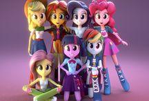 MLP Equestrian Girls