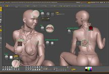 Tutorials - 3D Sculpting / ZBrush, mudbox, traditional sculpting related pins