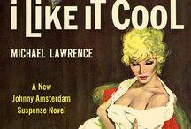 Vintage Pulp Fiction Art