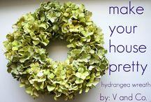 wreath ideas / by Bridget Dickinson
