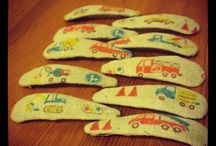 car barrette inspirations / creating an unisex hair accessory for kids