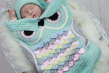 Crochet cocoons