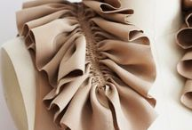 trend page  ; pleated