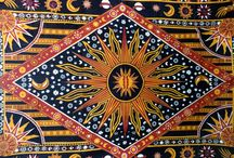 Sun Design Tapestry