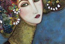 Faiza Maghni  Artist / Impression Artistiche