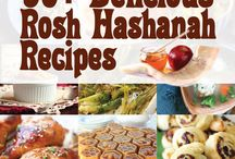 "Colorful Rosh Hashanah Recipes / Rosh Hashanah is all about the ""sweet life"" and a wonderful start to the New Year. Find a new family-favorite dish that's creative and perhaps even healthy!"