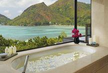 Raffles Praslin Seychelles / Raffles Praslin, Seychelles is an 86-villa luxury resort on the island of Praslin in Seychelles.