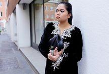 OOTD: Je M'en Fous Mini-Dress and Bag