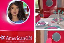 Rey's American Girl party