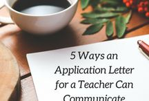 Application Letter for a Teacher Position Tips / Tips and strategies on writing an application letter specific to teachers, school administrators, college instructors, university professors, education consultants, literacy coaches, and any other educator.