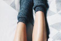 cute fluffy socks