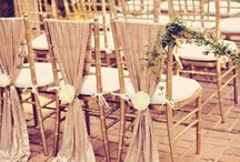 wedding odds...table/chair ideas / by Janet Campbell
