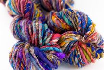 a hand-spun yarn