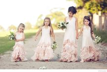 Flower Girl Dresses / by Napa Valley Custom Events ~ Sharon Burns