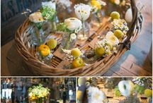 Yellow themed weddings