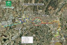 Metro Granada: Tramo Villarejo - Méndez Núñez / Estado de las obras del metro de Granada en el Tramo Villarejo - Méndez Núñez, Enero 2013