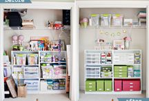 {at home} - storage ideas