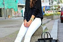 white pants outfits ideas