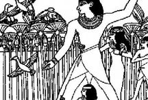 Ancient Egypt coloring book / Ancient Egypt coloring pages