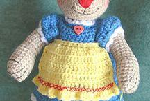 Crochet Stuffed Animals and Toys. / Crochet patterns for stuffed animals and toys. / by Nancy Masullo