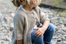 Knitwear for little girls