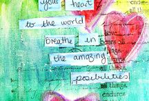 Art from the heart  / by Amy Ames