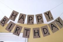 Scrabble Birthday Party