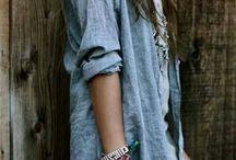 wear: denim + plaid