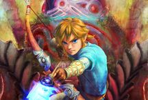 my nintendo game favorite.......zelda(prinsess) Link(hero) and friends