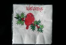 collectible paper napkins