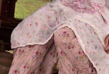 Magnolia Pearl Style / old vintage shabby romantic style