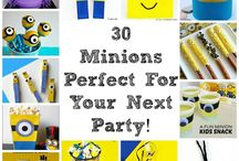 Minions / All things minions.  Minion Recipes, Minion Crafts, Minion Printables