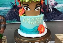 Party / Moana theme
