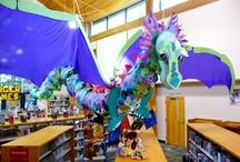 Library display ideas / by Laurel Rakas